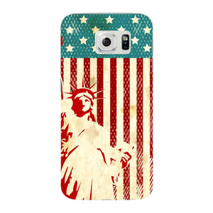 Vintage Proud American Phone Case Samsung Galaxy S6 Edge case