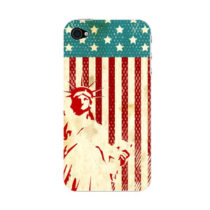 Vintage Proud American Phone Case iPhone 4S case