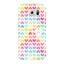 Watercolor Hearts Custom Phone Case Samsung Galaxy S6 Edge case
