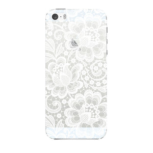 White Lace Pattern Phone Case iPhone 5 case
