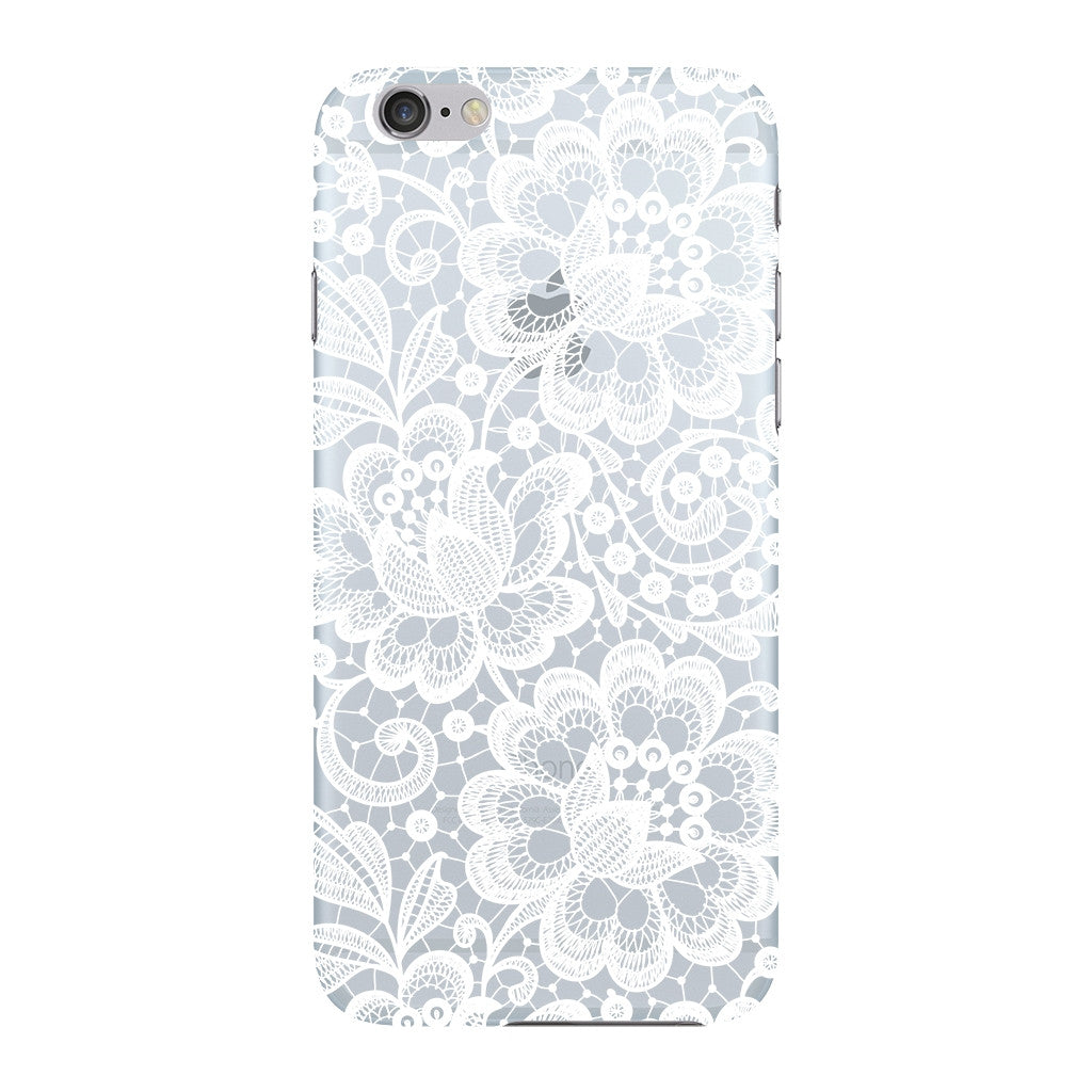 White Lace Pattern Phone Case iPhone 6 case