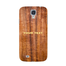 Wood Texture Custom Phone Case Samsung Galaxy S4 case