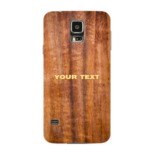 Wood Texture Custom Phone Case Samsung Galaxy S5 case