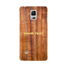 Wood Texture Custom Phone Case Samsung Galaxy Note 4 case