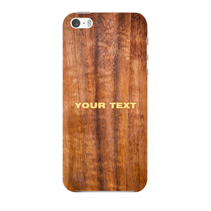 Wood Texture Custom Phone Case iPhone 5 case
