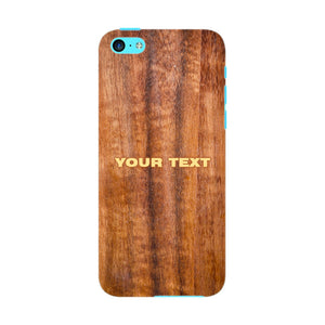 Wood Texture Custom Phone Case iPhone 5C case