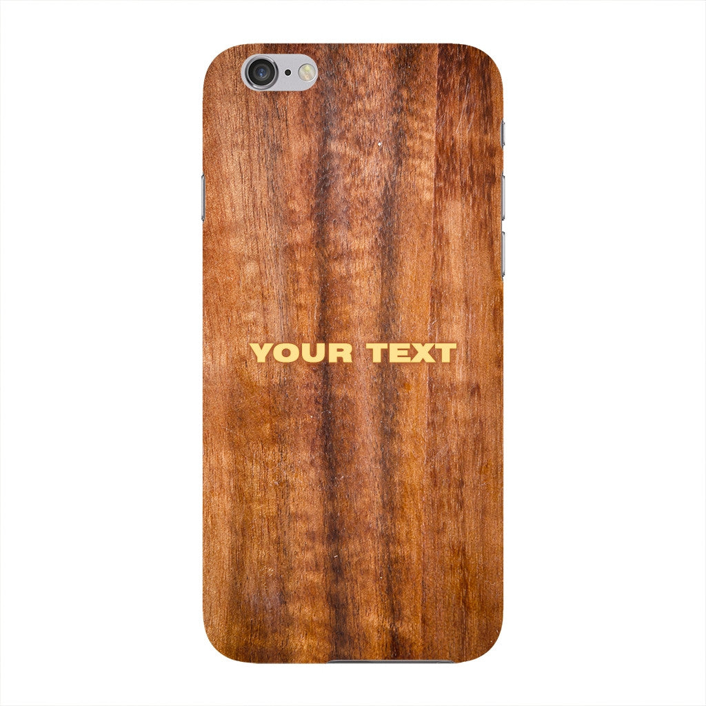 Wood Texture Custom Phone Case iPhone 6 case