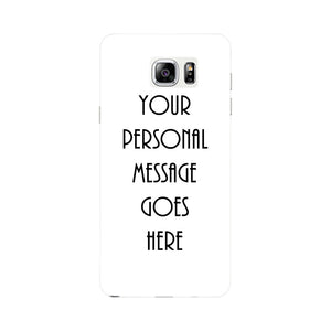 Your Personal Message Custom Phone Case Samsung Galaxy Note 5 case