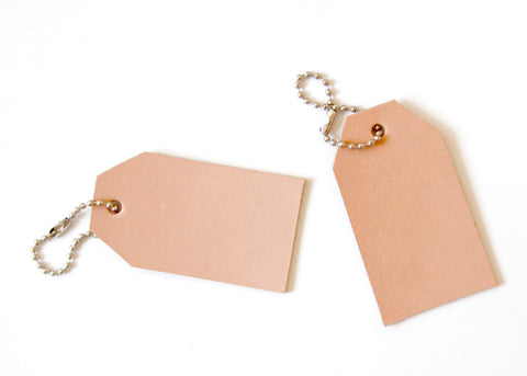 Leather Gift Tag