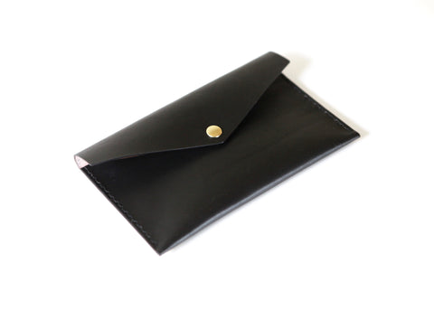 Leather Clutch Wallet. Solid Manufacturing Co.