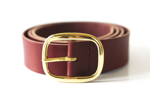 Leather Belt. Solid Manufacturing Co.