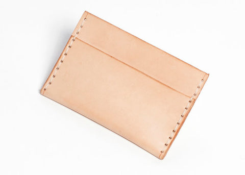 Leather Card Case. Solid Manufacturing Co.