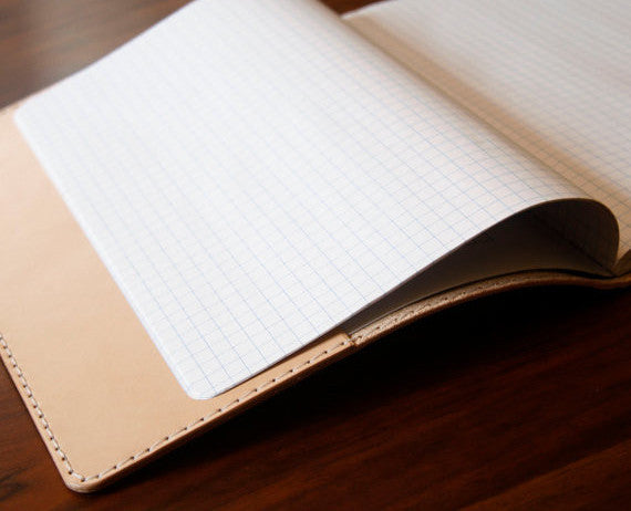 Leather Composition Notebook Cover. Solid Manufacturing Co.