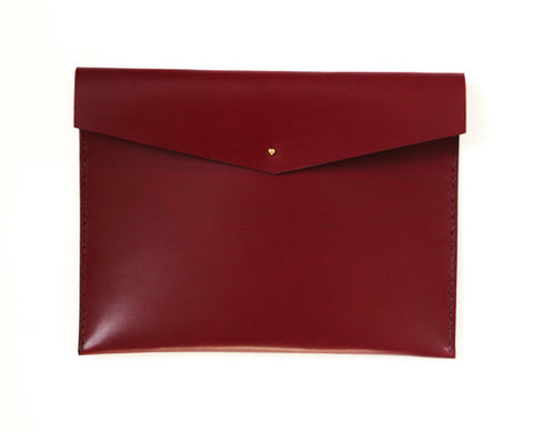 Leather Document Case. Solid Manufacturing Co.