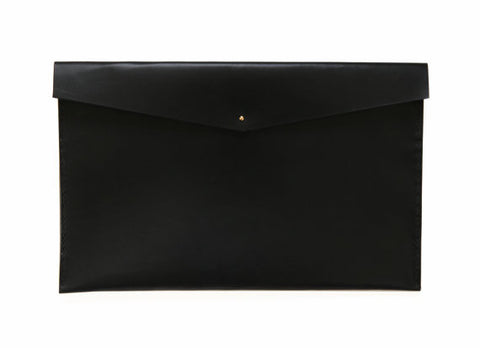 Leather MacBook Clutch. Solid Manufacturing Co.