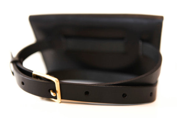 Leather Waist Pack. Solid Manufacturing Co.