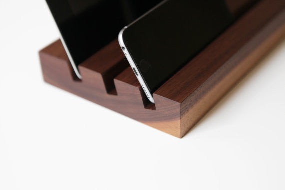 Desk tablet stand. Solid Manufacturing Co.