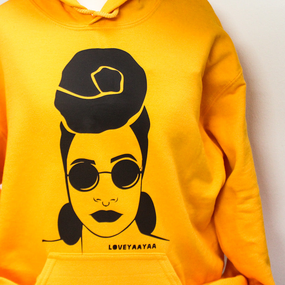 Two Hoodie Jumper 30% off  - Black and Yellow Jumper combo - Featured print - loveyaayaa