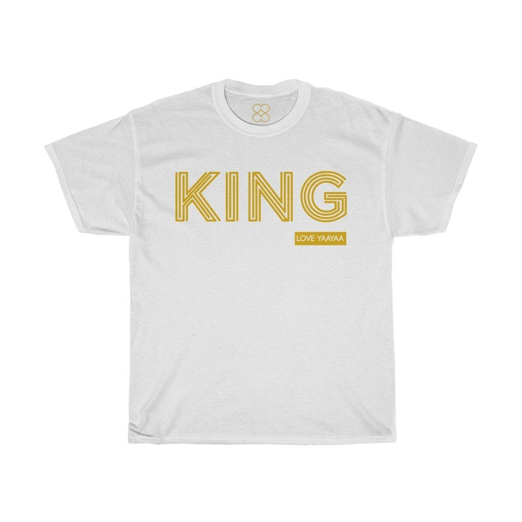 King Heavy Cotton Tee - All sizes