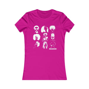 Afro and Headwrap Women's Favorite Tee - loveyaayaa