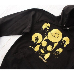 Black girl hoodie - By Love YaaYaa - loveyaayaa