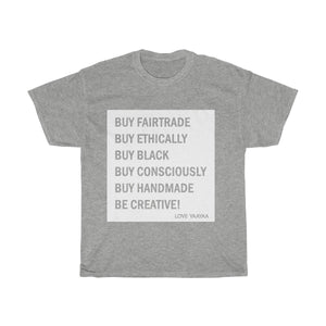 Buying Guide! Unisex Heavy Cotton Tee - loveyaayaa