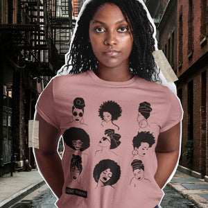 Dusty Pink  The Sistas Unisex T Shirt