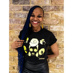 Headwrap Sisters graphic T shirt - loveyaayaa