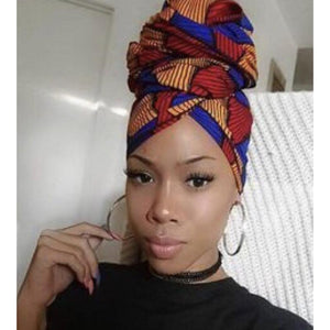 Turban wax Print HeadWrap