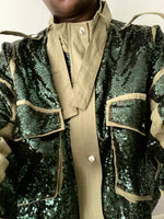 SERENA - Patchwork Sequined Jacket