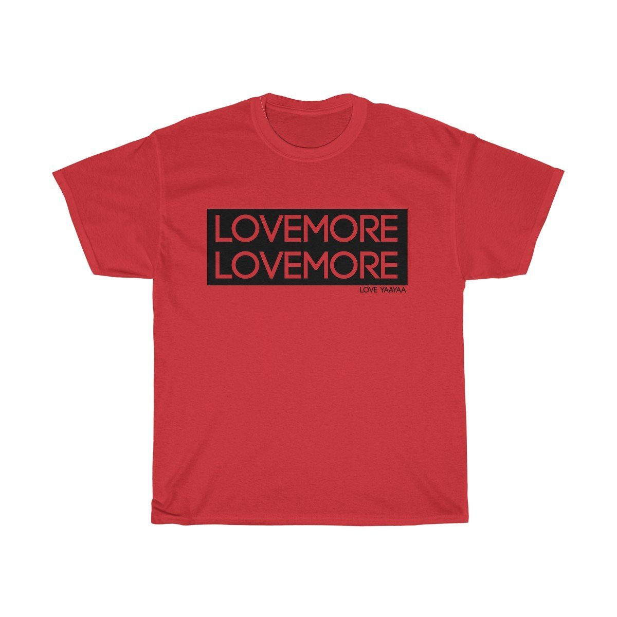 Lovemore Unisex Heavy Cotton Tee - loveyaayaa