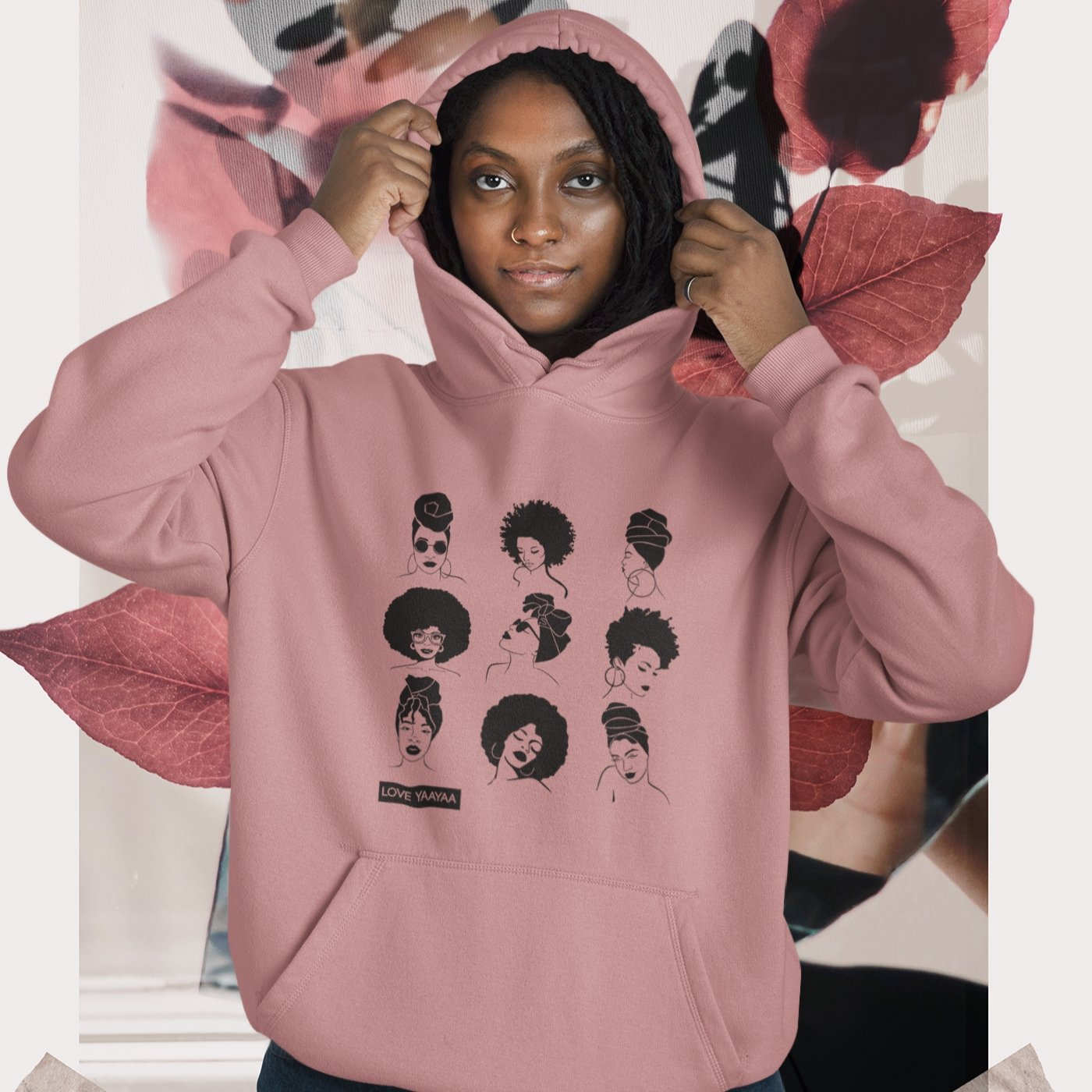 Dusty Pink  The Sistas Heavy Blend™ Hooded Sweatshirt