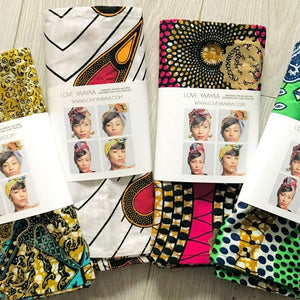 Mystery Box - 4 Headwraps for half price - loveyaayaa
