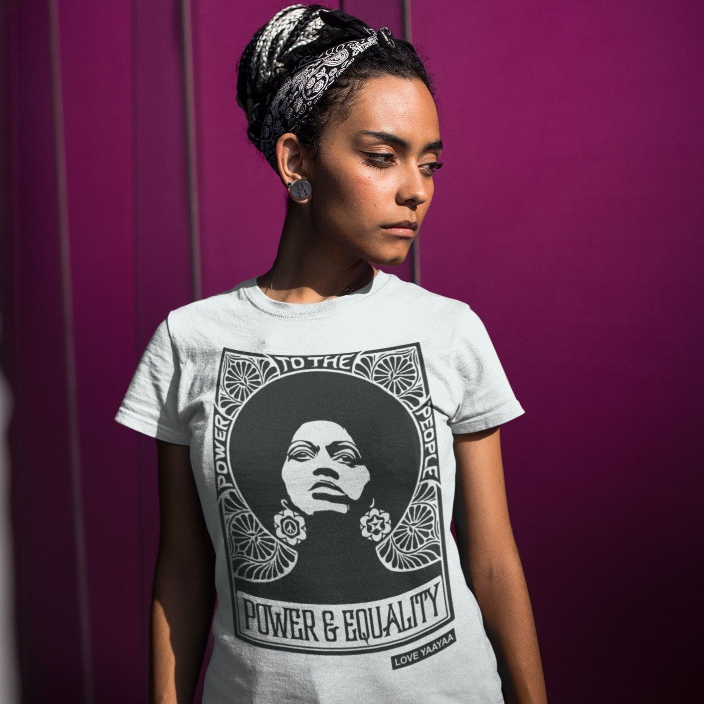 Power and Equality Women's Fit Tee - loveyaayaa