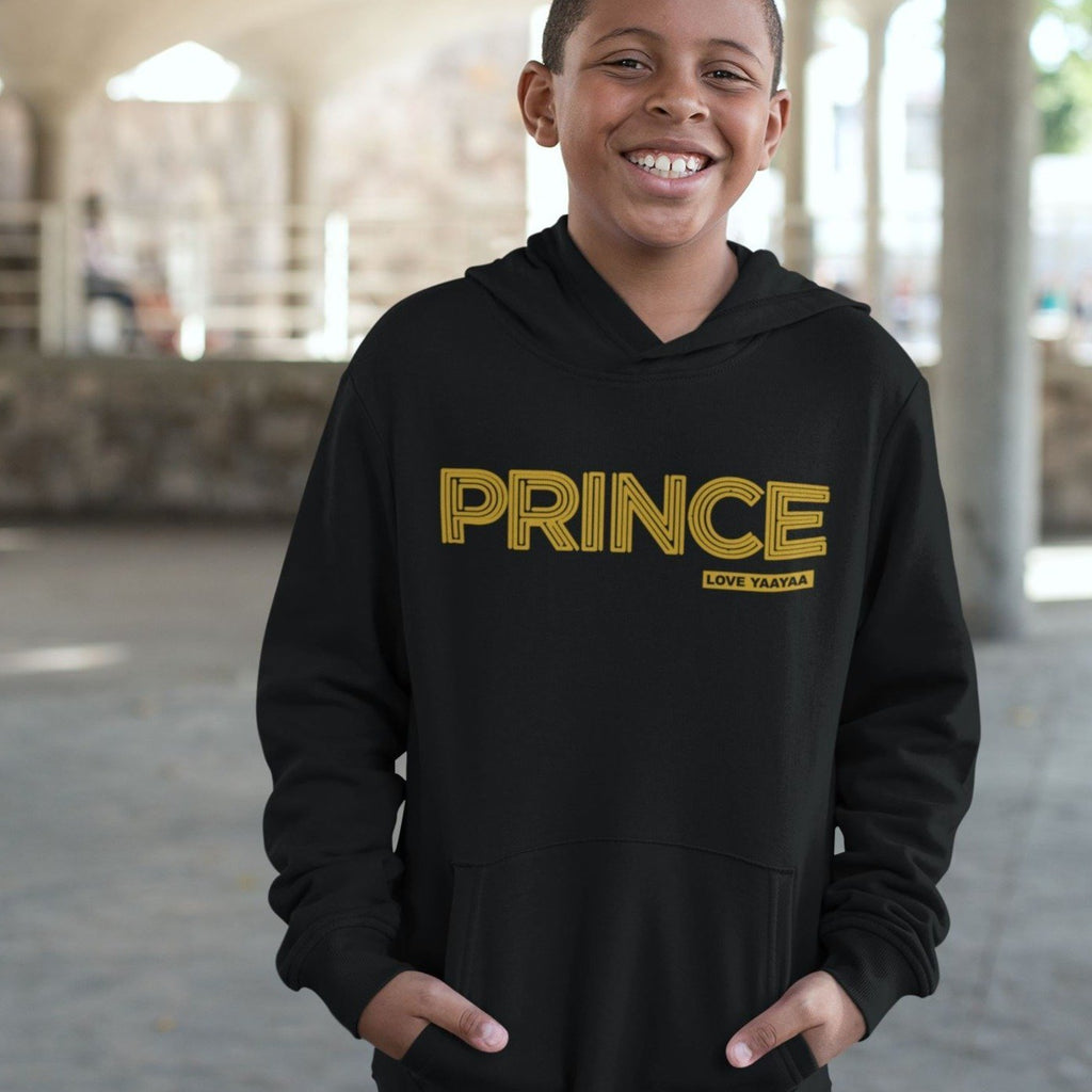 Prince childrens Hoodie from age 1 to 14 years old - loveyaayaa