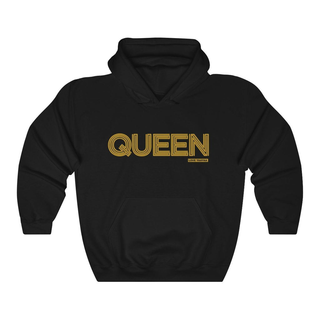 QUEEN 'yes you are' Unisex Heavy Blend™ Hooded Sweatshirt - loveyaayaa