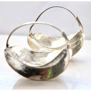 Silver Plated Fulani Earrings / Fulani Tribal Earrings - loveyaayaa