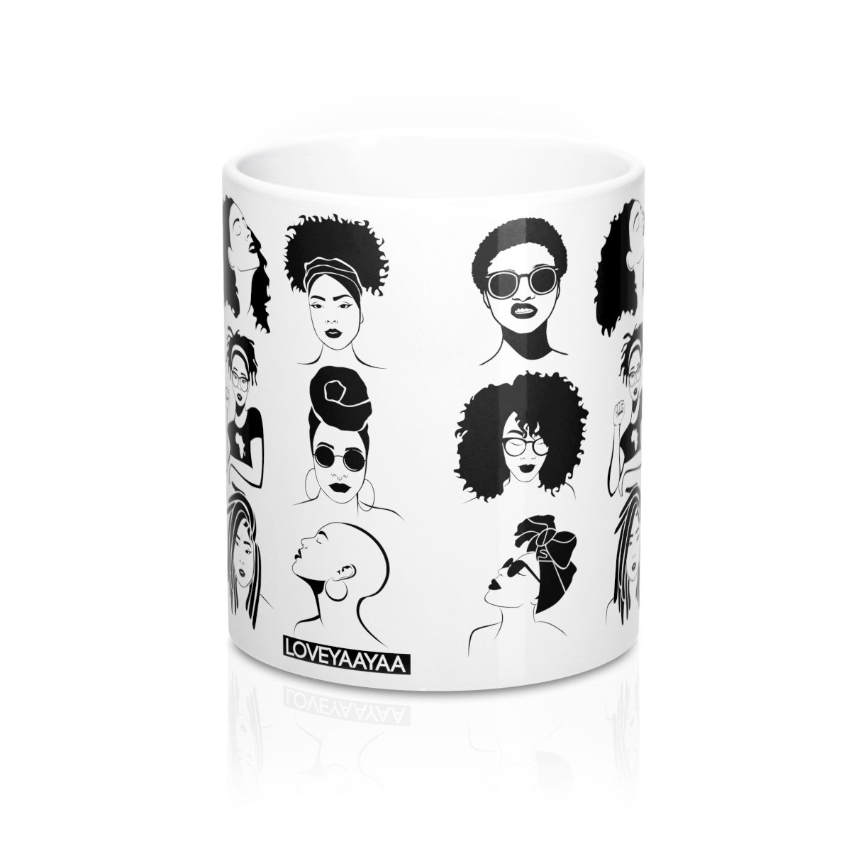 Sistas Mug 11oz - Stand out in the office! - loveyaayaa