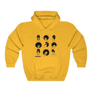 Yellow the sistas Hoodie Sweatshirt - loveyaayaa