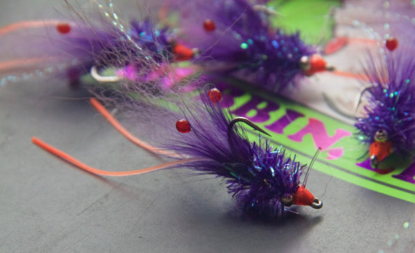 "The ""GO-TO"" Sparkle Shrimp in Grape 3pk"