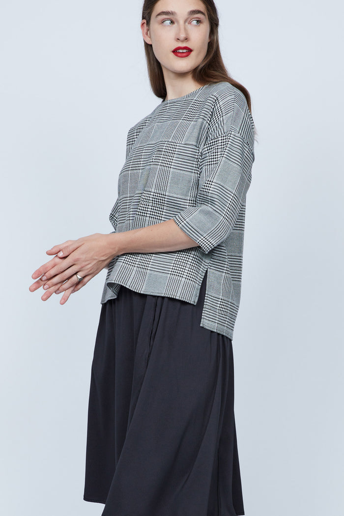 PLAID AVA TOP - SOLIKA
