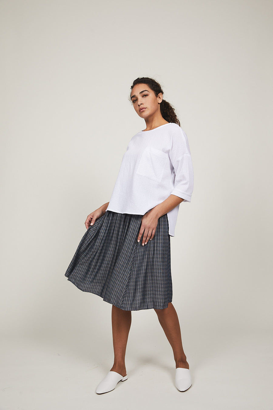 Plaid Sofia Skirt - SOLIKA