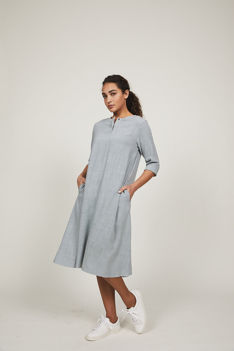 Sea Mist Haya Dress - SOLIKA