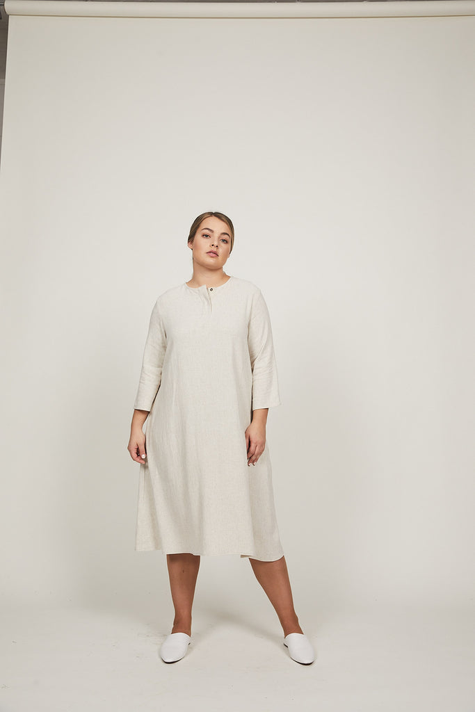 Oat Haya Dress - SOLIKA