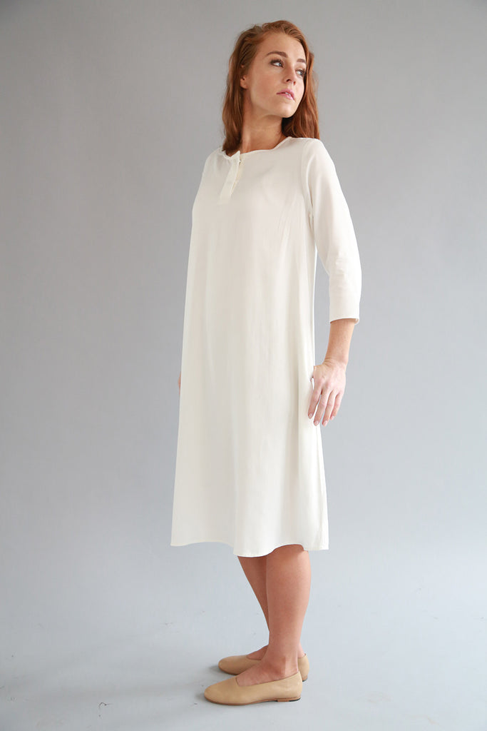 WHITE HAYA DRESS - SOLIKA