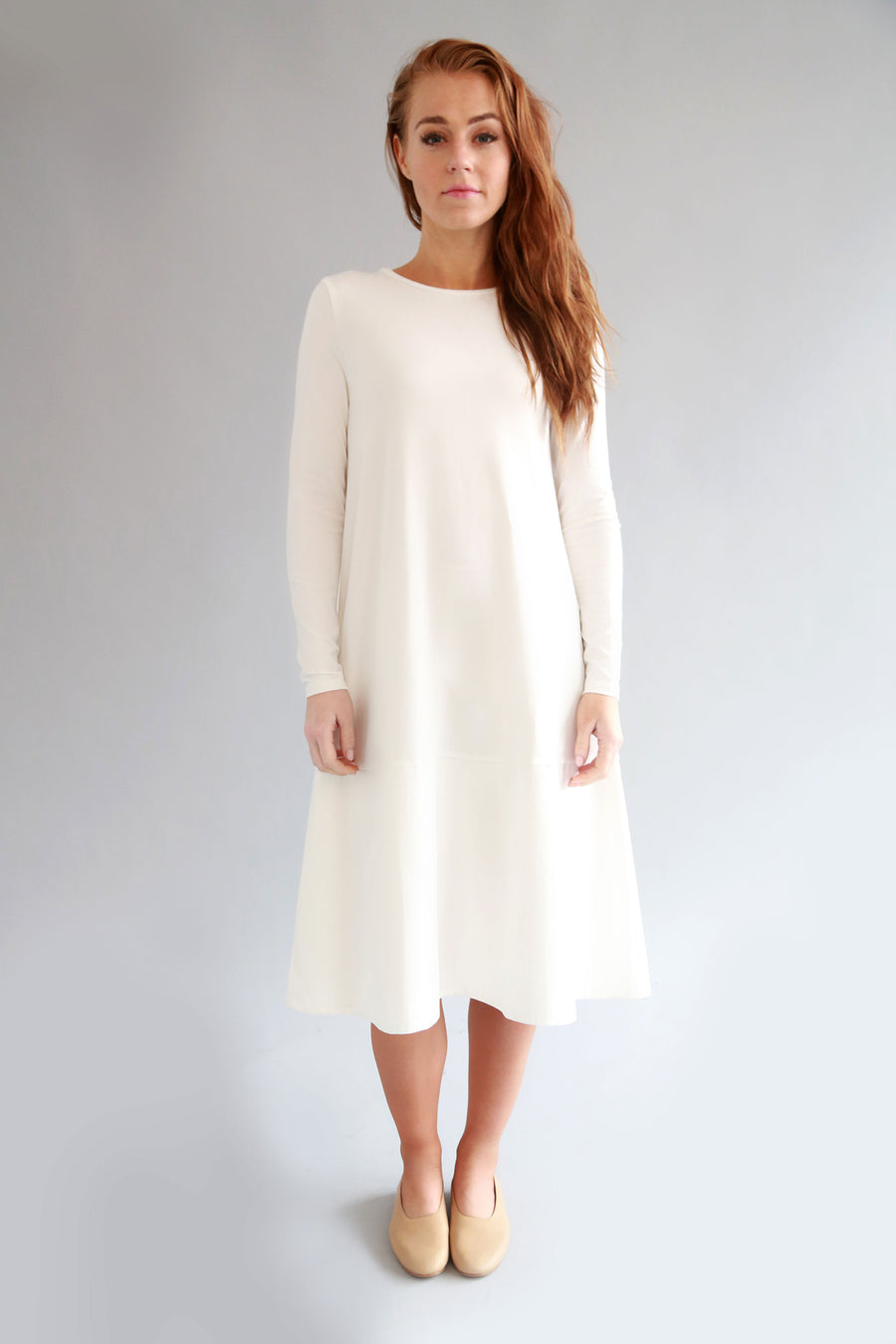 WHITE MIMI DRESS - SOLIKA