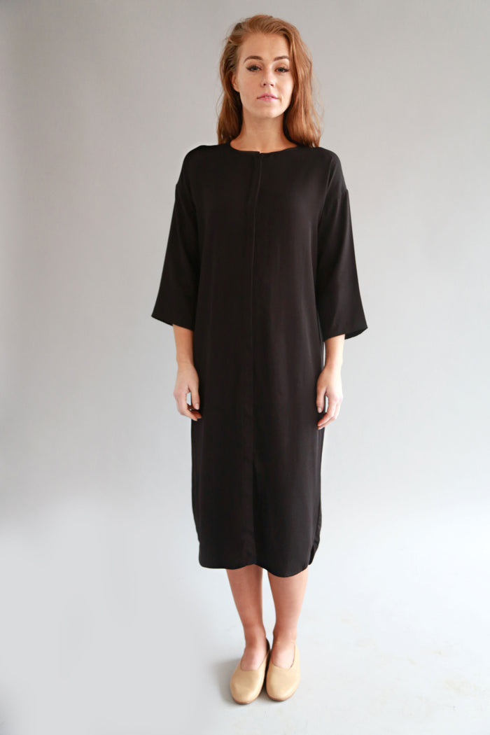 BLACK MAIA DRESS