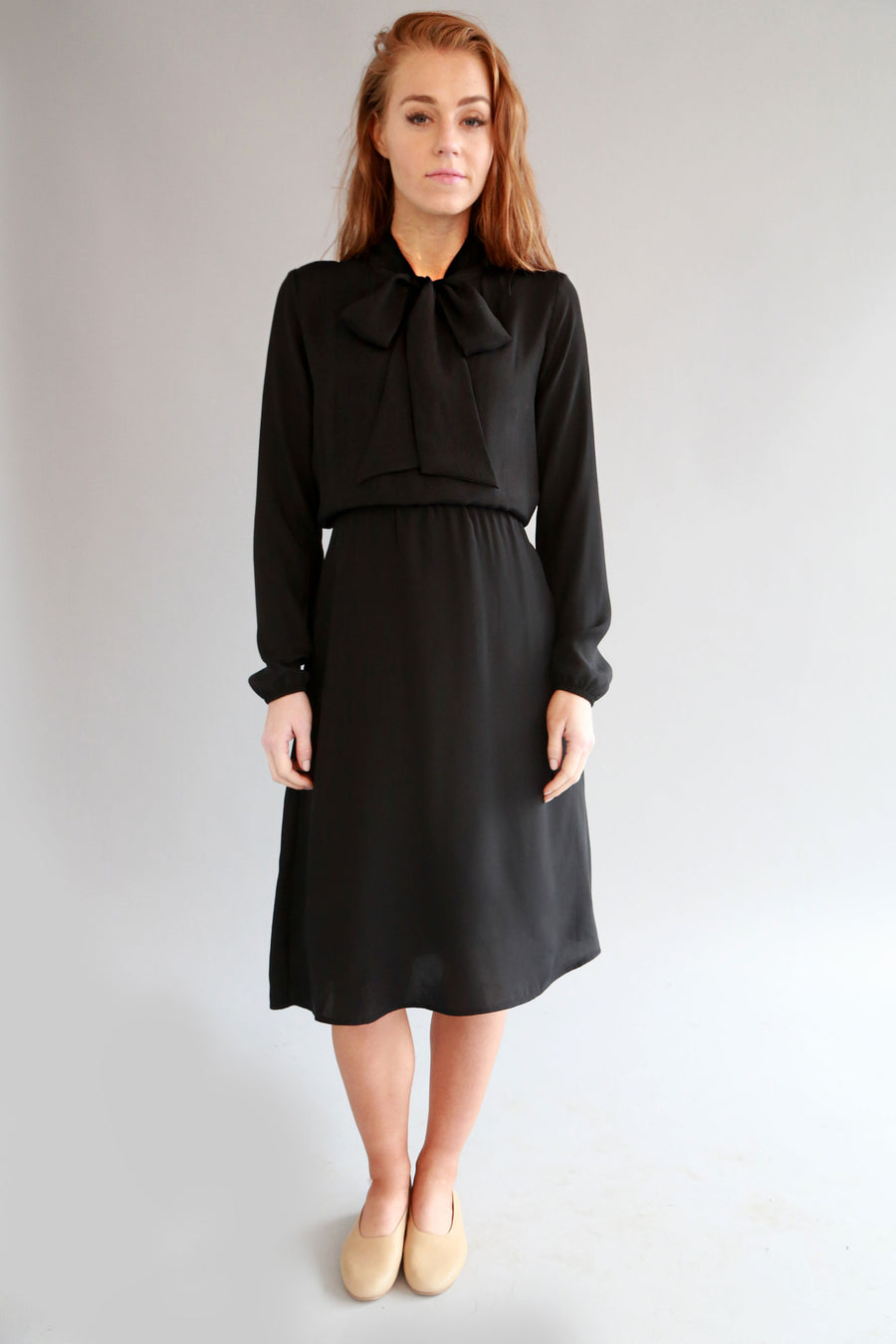 BLACK SOL DRESS - SOLIKA
