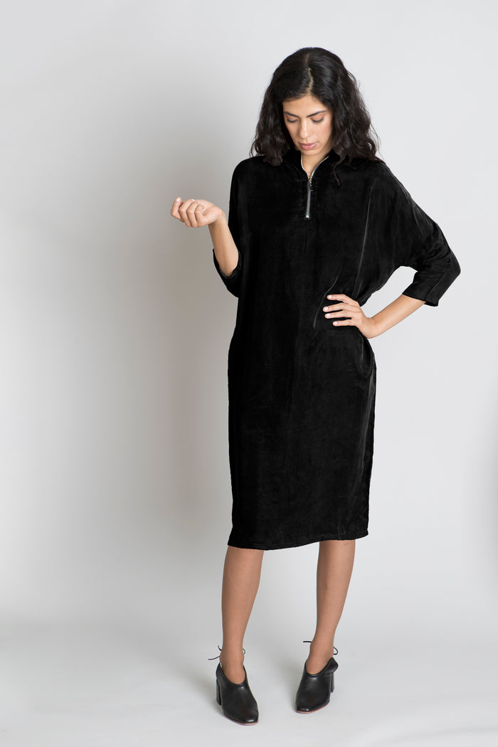BLACK LILIOU DRESS - SOLIKA
