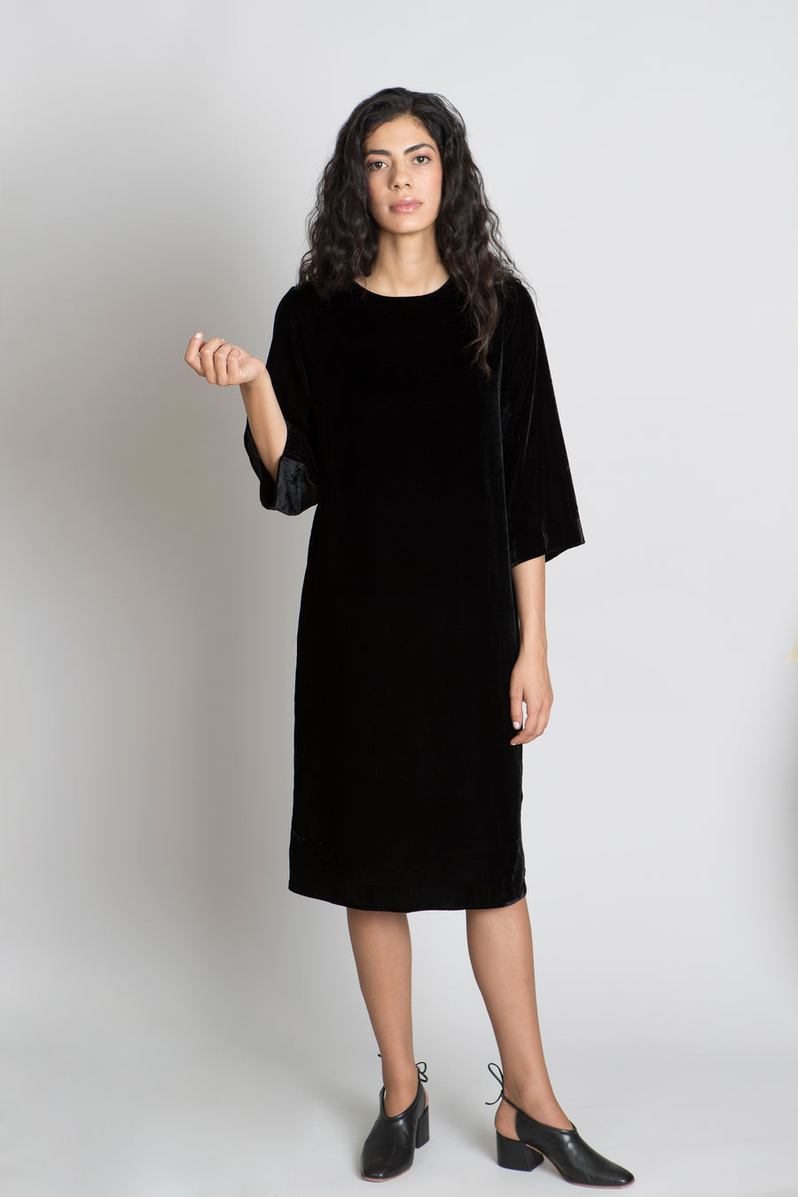 BLACK DIANA DRESS - SOLIKA